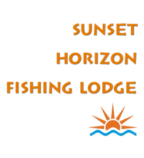 Sunset Horizon Fishing Lodge - Logo Full