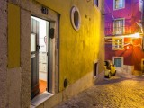 Building's entrance / exit. Meet the beautiful nooks and alleys of Alfama | AlfamaKey Apartments | Lisbon | Portugal