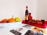 we offered to you a welcome basket with fresh Fruit, Portuguese liquor and the famous and delicious