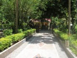 Entrance | Bamboo Chalets | La Digue, Seychelles