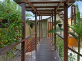Walkway to Studios | Blue Bliss | Byron Bay, Australia