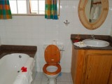 Bathroom, Two Bedroom Chalet