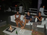 Our clients relaxing at night