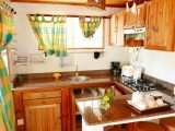 Kitchen, Two Bedroom Chalet