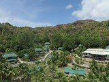 Aerial View | Hotel L'Archipel | Anse Gouvernement, Praslin, Seychelles