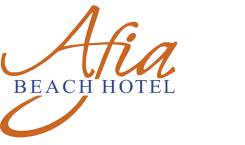 Afia Beach Hotel - Logo Full
