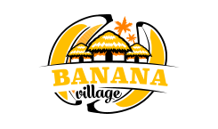 Banana Village Eco Resort - Logo Full