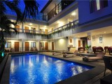 Swimming Pool at Night | d'Lima Hotel & Villas, Bali - Indonesia