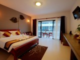 Suite Deluxe Swimming Pool View | New Riverside Hotel | SIem Reap, Cambodia