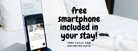 Free smartphone Hotel Osterport