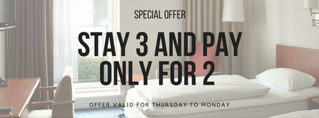 STAY 3 AND PAY ONLY FOR 2