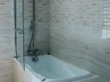 Combined Bathtub & Shower, Junior Suite with Mountain View