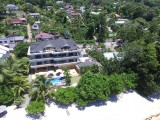 Aerial View, Crown Beach Hotel