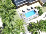 Aerial View, Pool Area