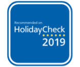 Recommended by HolidayCheck - 2019