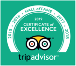 TripAdvisor Wall of Fame - Crown Beach Hotel
