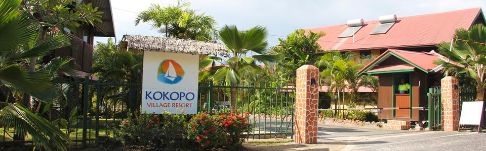Kokopo Village Resort - Banner