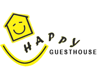 Happy Guesthouse - Logo Full
