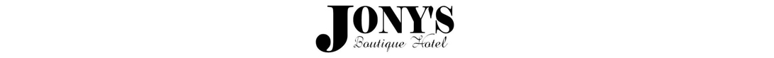 Jony's Boutique Hotel - Logo Full