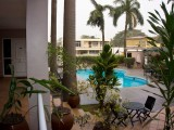 Pool View | Crown Apartmento | Accra, Ghana