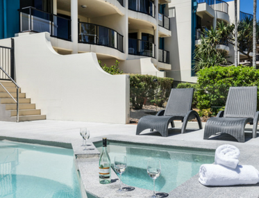 Spinnaker Quays Mooloolaba accommodation pool