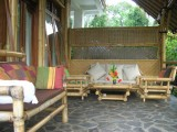 Villa Bambu Downstairs Terrace | Villa Manuk | Bali