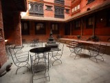 Patio Seating | Kantipur Temple House | Kathmandu, Nepal