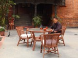 Outdoor Seating | Kantipur Temple House | Kathmandu, Nepal