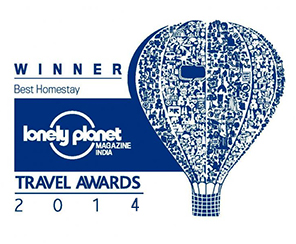 Winner of the Lonely Planet Travel Awards
