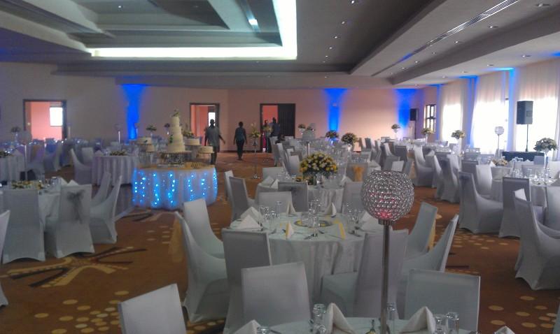 The wedding halls