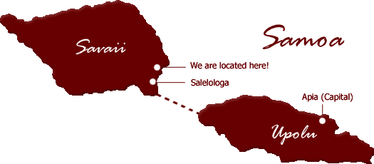 Map of The Savaiian Hotel