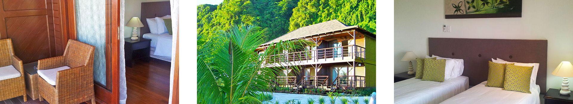 Hotel Room - Aga Reef Resort - Samoa