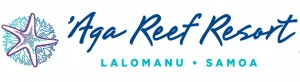 Aga Reef Resort - Logo Full