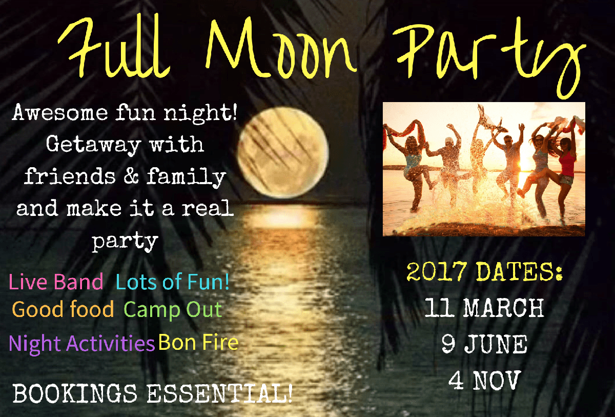 Full Moon Parties 2017