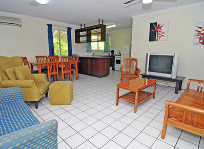 Two-bedroom Cottage - Coral Motel