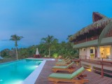 Swimming Pool at Night | Villa Playa Los Naranjos Tayrona | Santa Marta, Colombia