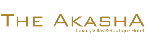 The Akasha Luxury Villas & Boutique Hotel - Logo Full