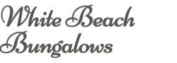 White Beach Bungalows - Logo Full