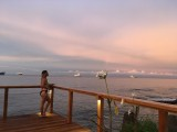 View from the Bar | Pacific Casino Hotel | Honiara, Solomon Islands