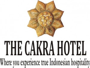 The Cakra Hotel - Logo Full