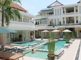 Swimming Pool Area, Bali Court Hotel & Apartments, Kuta, Bali - Indonesia