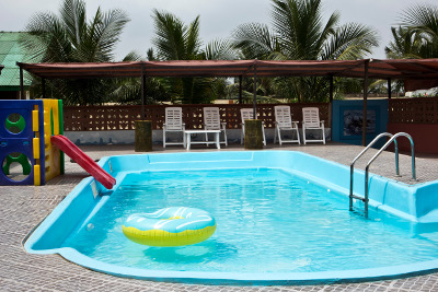 Pool side fun | Cliff Haven Beach Resort | Gomoa Nyanyano, Ghana