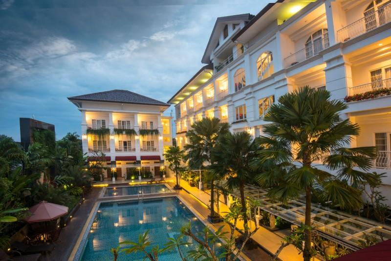 Pool Gallery Prawirotaman Hotel Mergangsan Yogyakarta