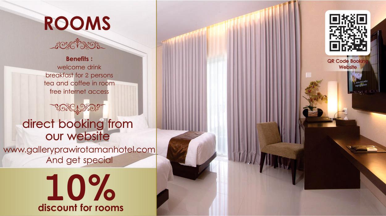 Gallery Prawirotaman Hotel Promotion