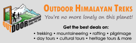 Outdoor Himalayan Treks | Travel partner of Hotel Friends Home | Kathmandu, Nepal