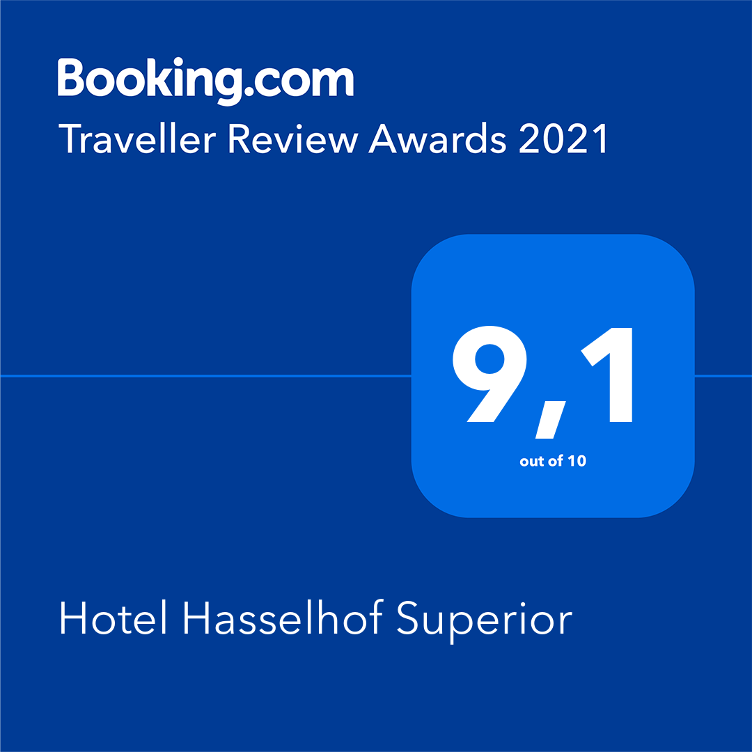 Booking.com 9,2 Guest Review Award 2020 Hotel Hasselhof Braunlage