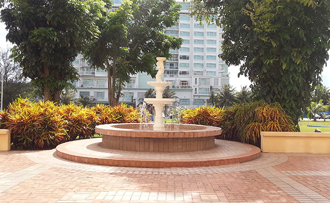 Fountain Area for Outdoor Events