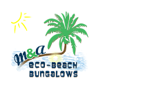 M&A Eco-Beach Bungalows - Logo Full