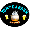 Tom's Garden - Logo Full