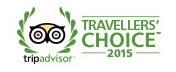 Travellers' Choice Award 2015